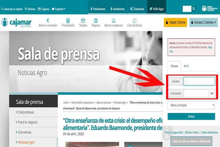 banca electronica cajamar