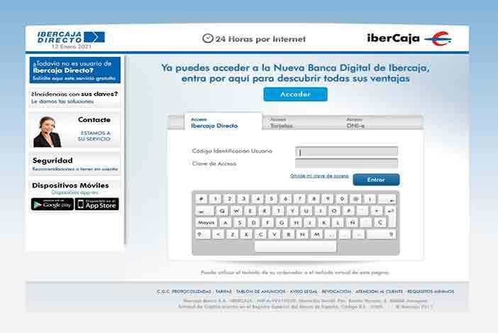 ibercaja online